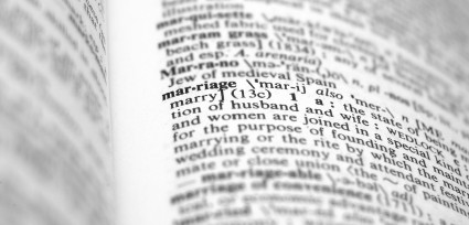 dictionary marriage