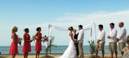 Marriage - on beach