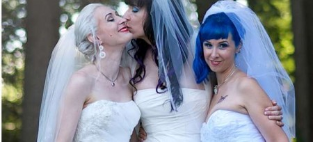gay marriage three women