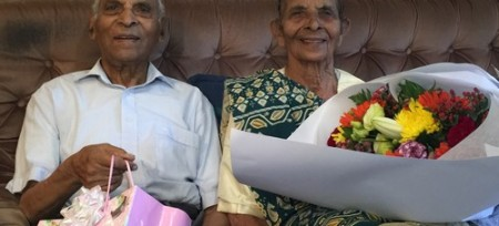 Longest Married Couple receive award