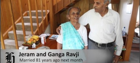 Longest married couple video NZ Herald website